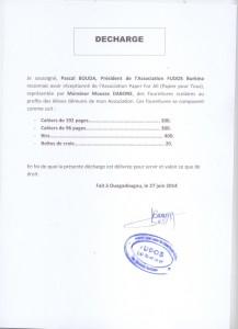 Décharge Association FUDOS Burkina (Medium)